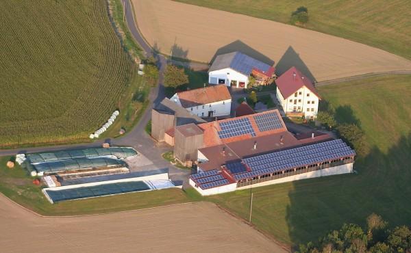 PV Anlage Bauernhof