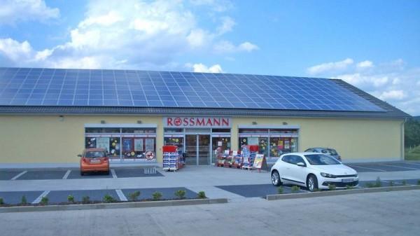 PV Anlage Rossmann Markt Wernberg